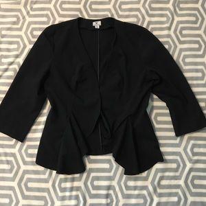 Black business suit jacket size XL